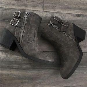 Grey Bootie